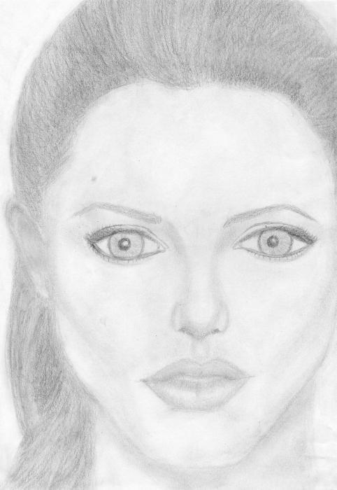 Angelina Jolie by vivalot